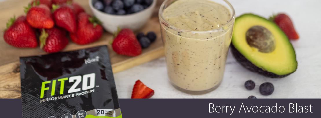 Berry Avocado Blast Recipe